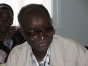 Lamine Kane, Senegalese literacy specialist and KYR workshop organizer