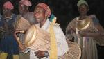 buaru leading Sapashini drummers