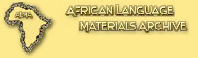 African Language Materials Archive